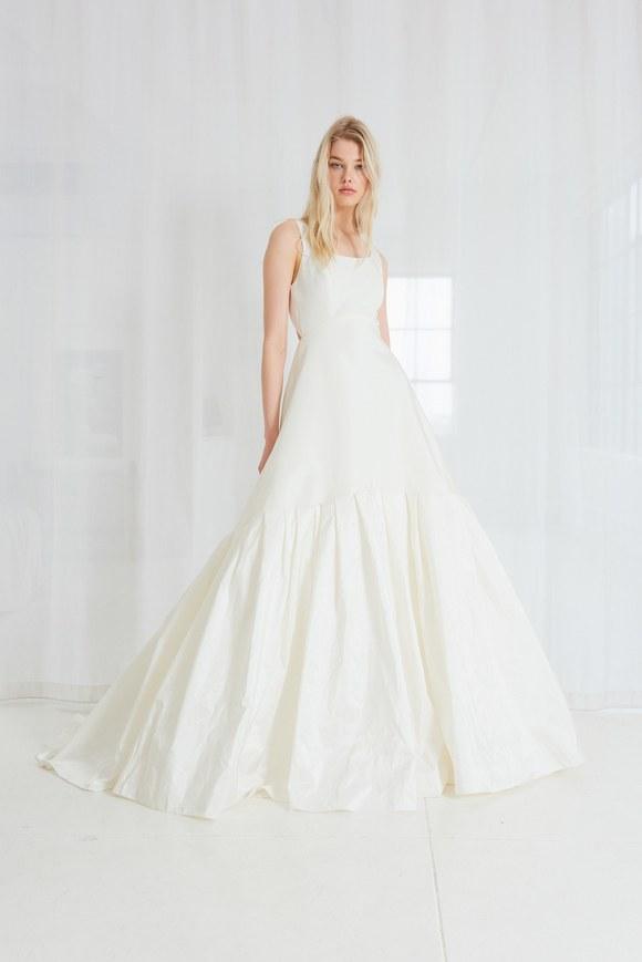 amsale wedding dress 2018 taffeta