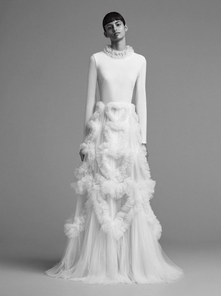 tulle wedding dress vicor rolf 2018