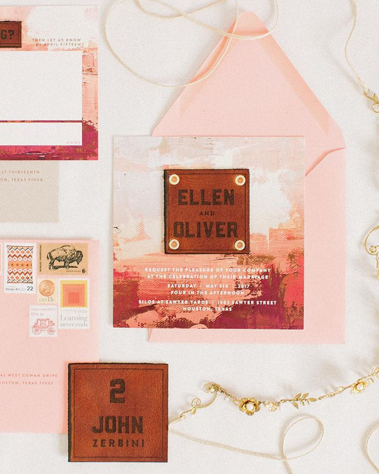 Most Popular Wedding Invitations: The Most Beautiful Wedding Invitation Trends For 2018