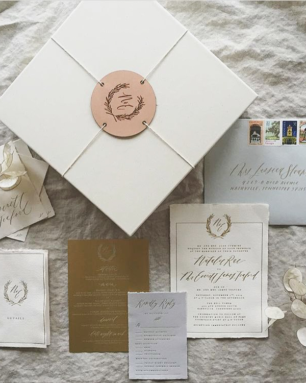 The Most Beautiful Wedding Invitation Trends For 2020 - Make Happy ...