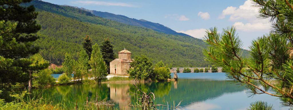 Lake Doxa  Greek Wedding Destination