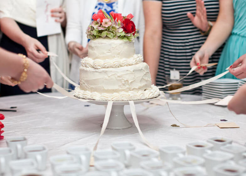 Peru wedding tradition cake pull