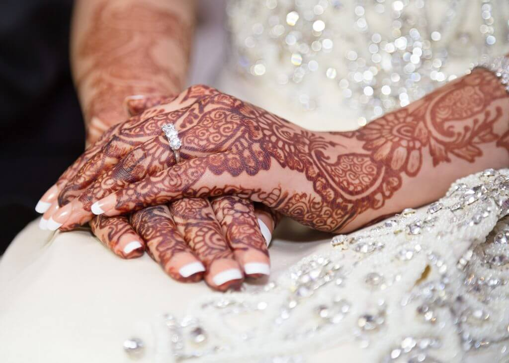 India wedding tradition Mehndi or mehendi