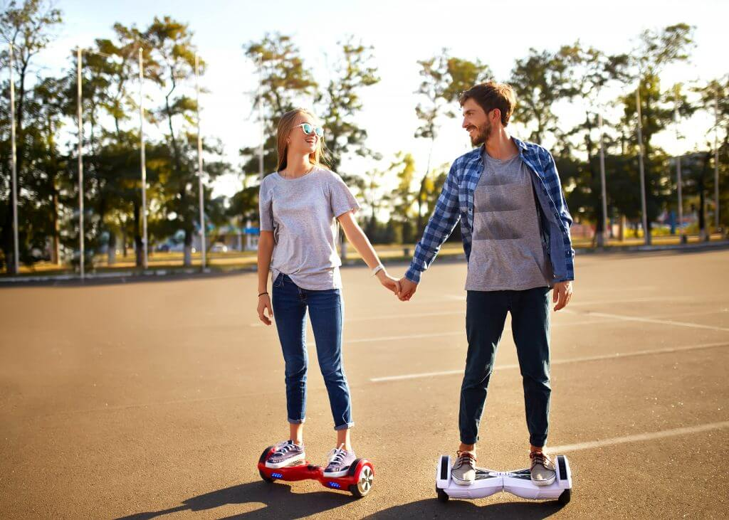 segway wedding transportation idea