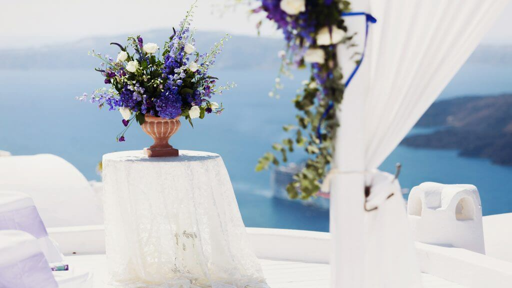 Wedding Planner in Santorini Luxurious Private Venue11