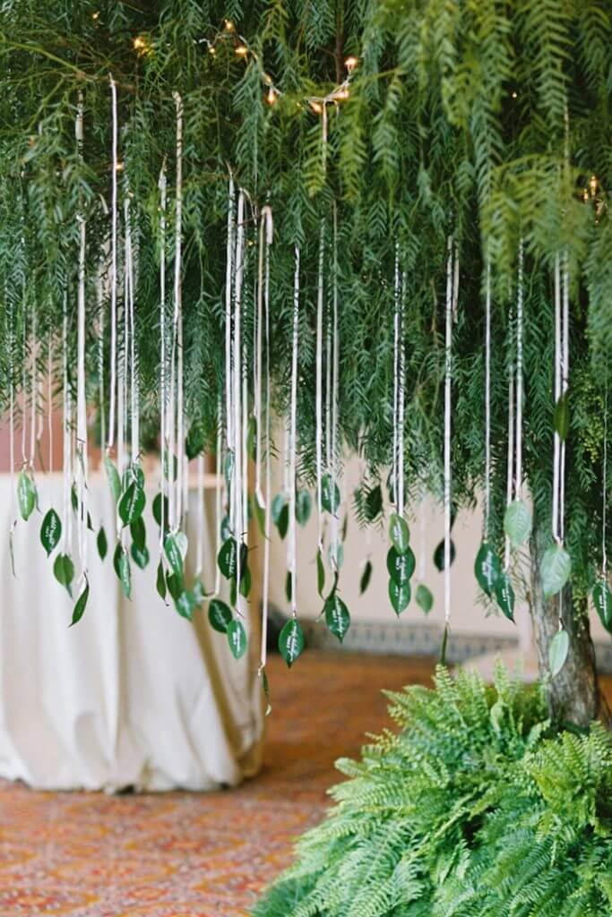 Make Happy Memories Greenery Cascading