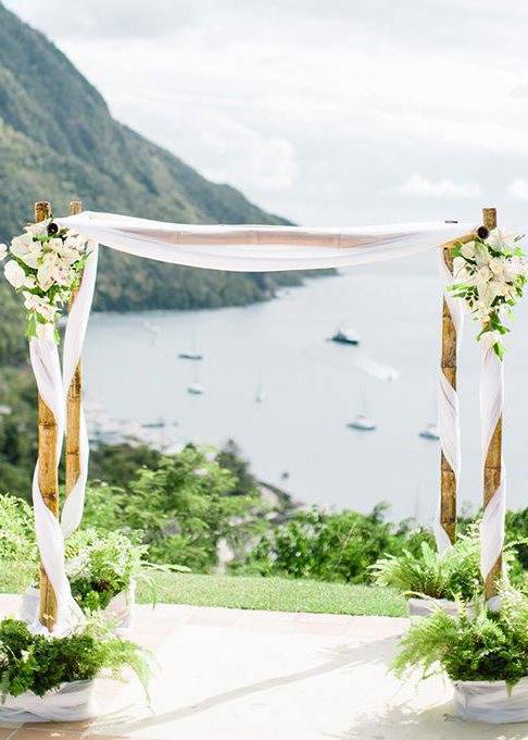 Make Happy Memories Arch Ideas Bamboo