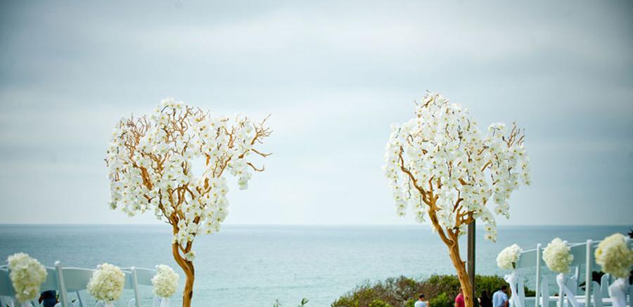 orchid wedding arch make happy memories