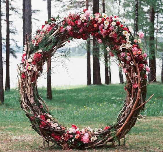 twig arch make happy memories