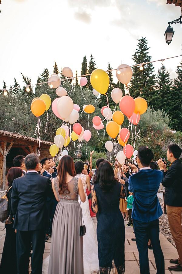 Make Happy Memories Wedding Corners Balloons