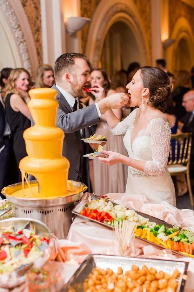 Make Happy Memories Wedding Corners Fondue