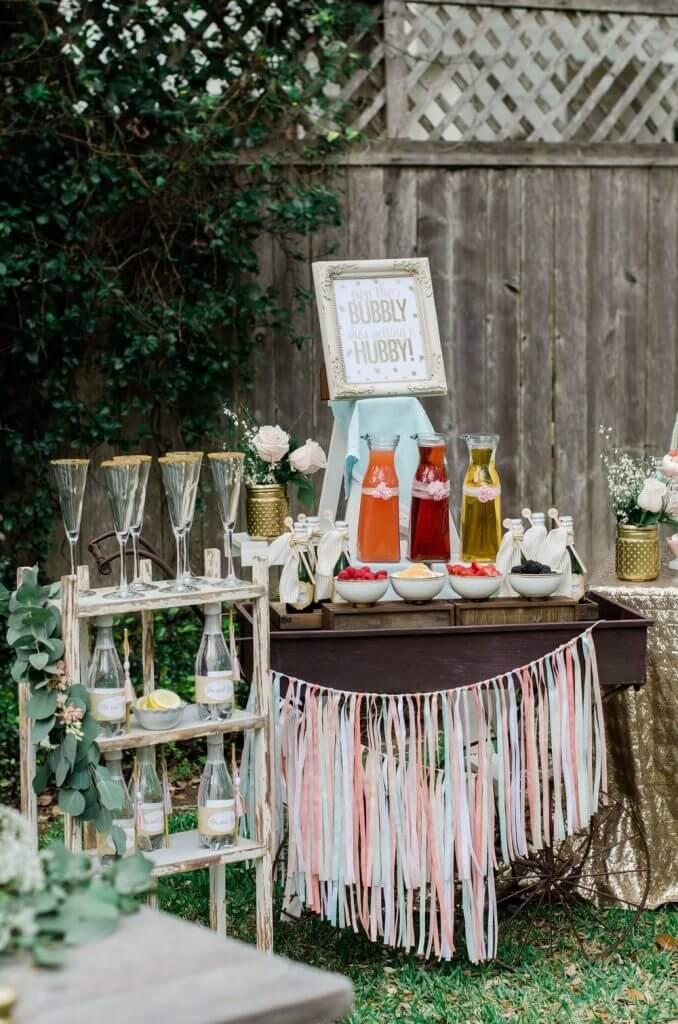 Make Happy Memories Wedding Corners Mimosa