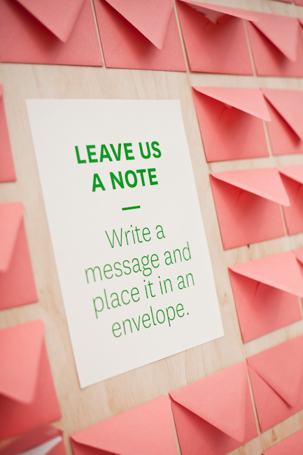 Make Happy Memories Wedding Corners Notes