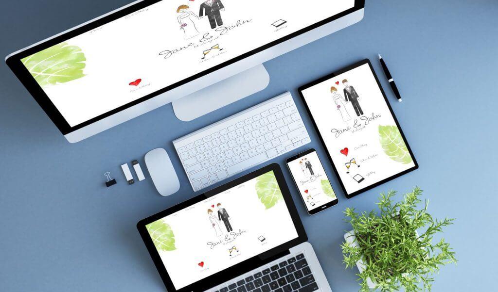 Make Happy Memories Engaged in 2019 Website